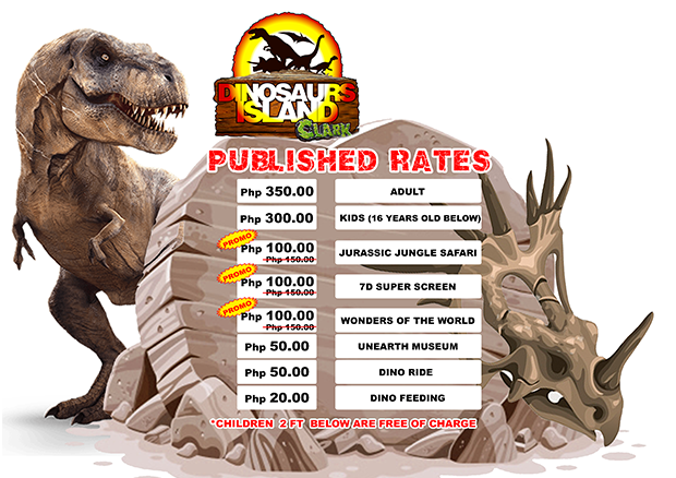 DINOSAURS ISLAND RATE